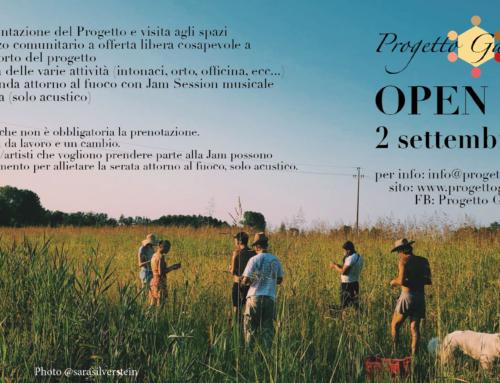 Open Day 2 settembre 2018