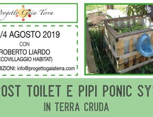 COMPOST TOILET E PIPI PONIC SYSTEM